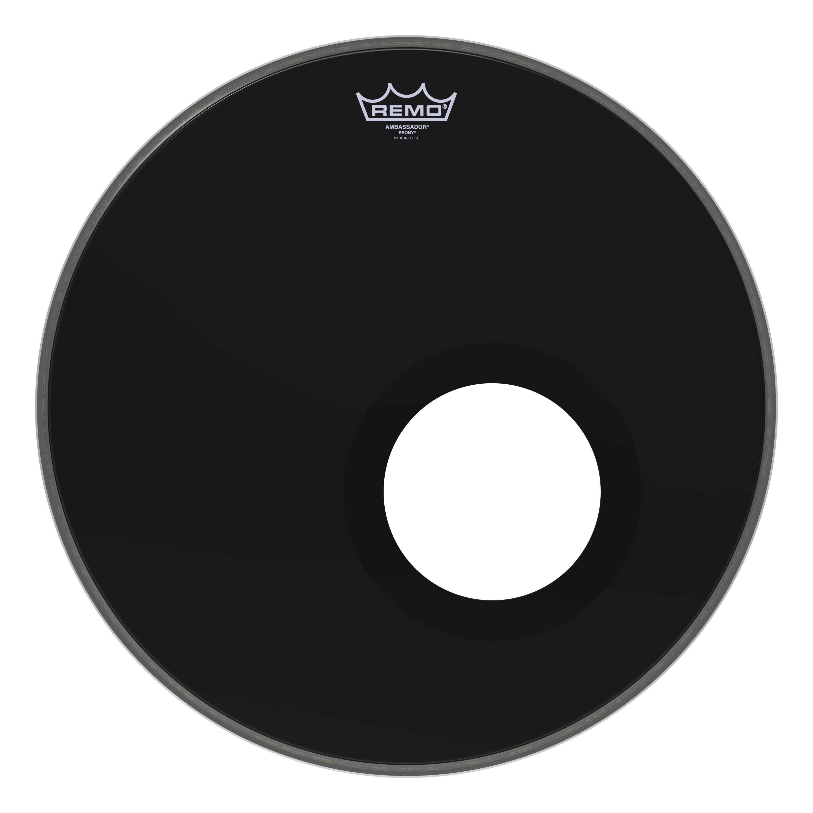 """Remo 10/"""" Ambassador Ebony Drum Head ES-0010-00"""
