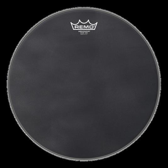 Ambassador® Black Suede™ Snare Side