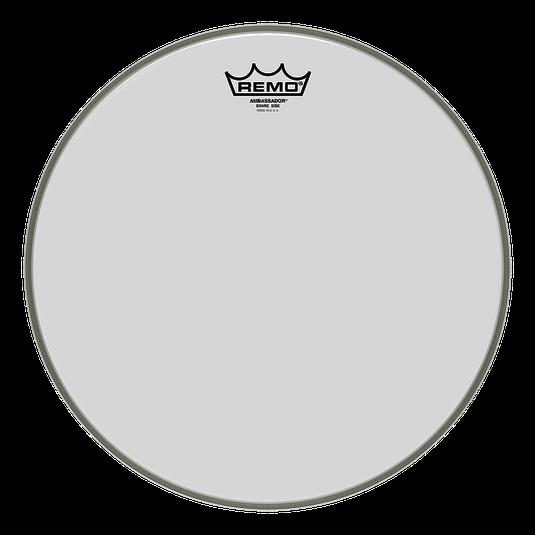 Ambassador® Clear Snare Side