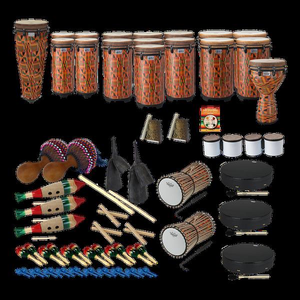 163e3386 World Music Drumming Drum Pack