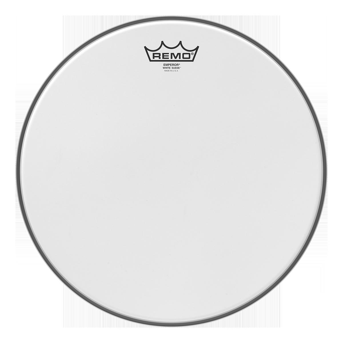 """Remo 15/"""" White Suede Emperor Drum Head"""