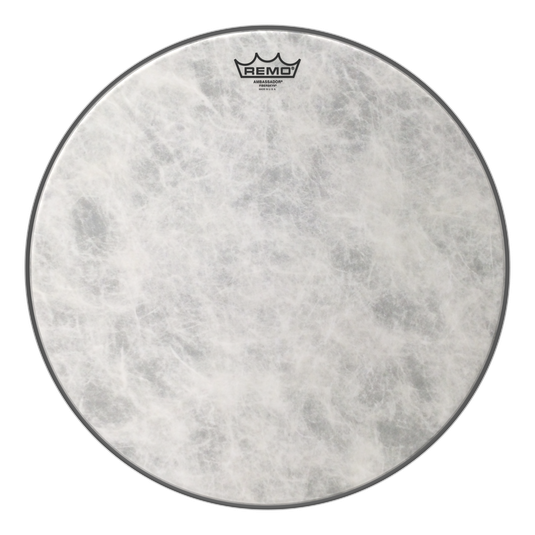 Remo FA-1526-00 26-Inch Fiberskyn 3 Ambassador Bass Drum Head