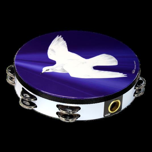 d982c5ee0348 Praise Tambourine - Religious Dove, 10